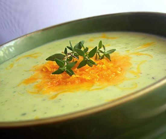 Суп с сыром чеддер и элем