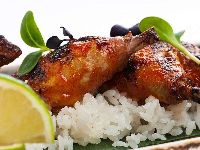 Цыпленок с чили и лаймом