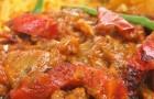 Цыпленок с соусом карри по-индийски