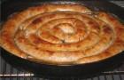 Украинская свиная колбаса с чесноком