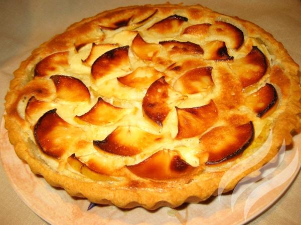 Яблочный пирог с приправами