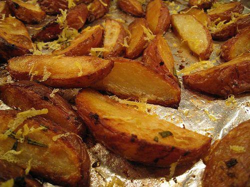 Жареный тертый картофель