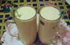 Напиток из крапивы с молоком