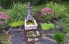 Фонтаны из огородного инвентаря