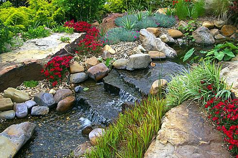 Горные реки в саду