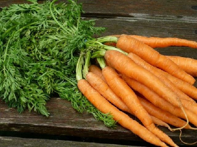Маска из моркови