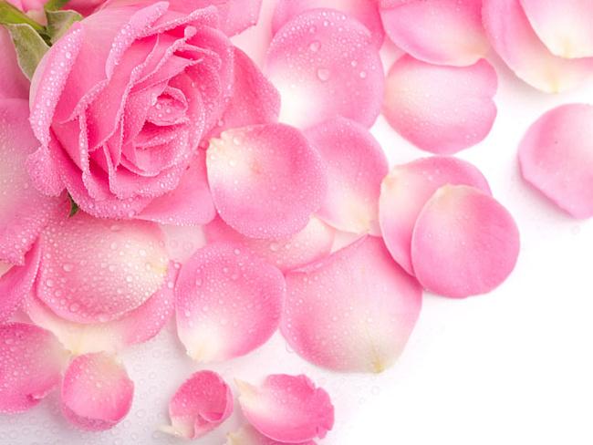 Маска из розовых лепестков