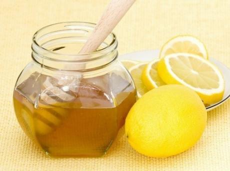 Маска медово-лимонная