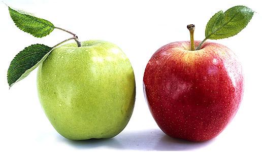 Маска с редькой и яблоком