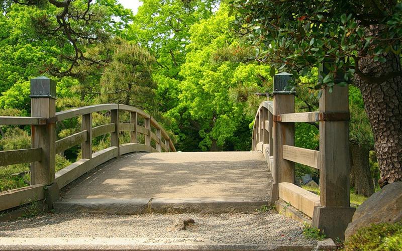 Мосты в саду