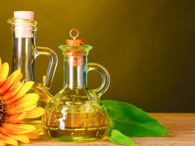 Ополаскивание с подсолнечным маслом