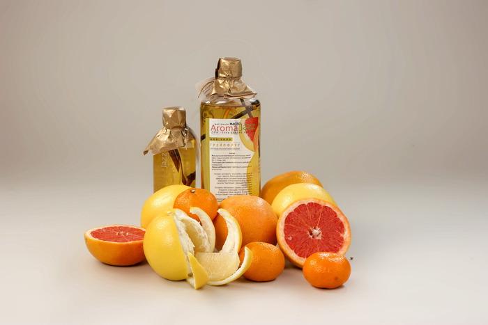 Пилинг с цветками апельсина