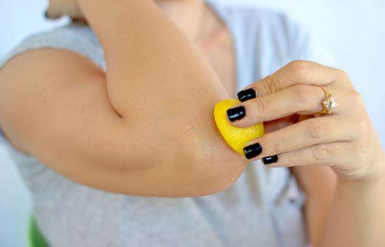 Смягчающее средство для кожи локтей