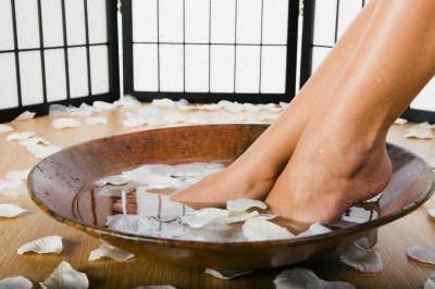 Ванночка обыкновенная с мылом и содой