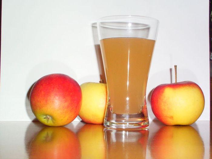 Ванночка с добавлением яблочного сока