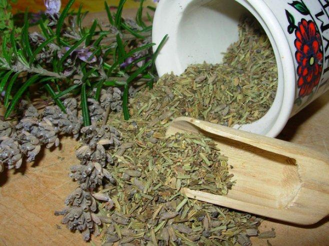 Ванночка с целебными травами (вариант 3)