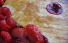 Бисквитное фруктово-ореховое сабле