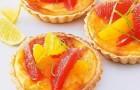 Грейпфрутовые пирожные