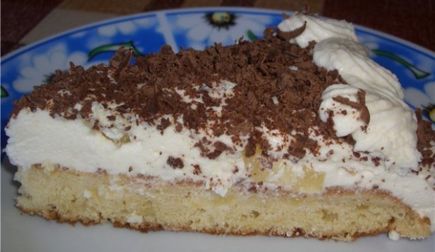 Крем-суфле шоколадное