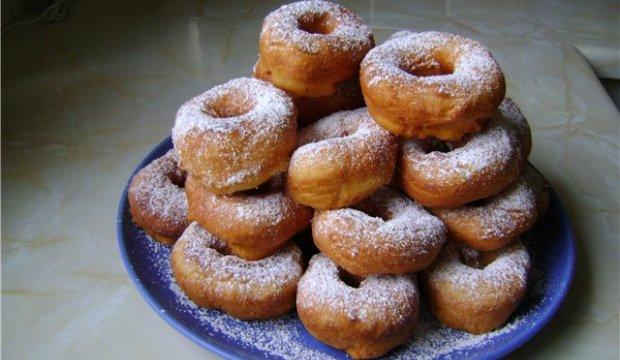 Основной рецепт пончиков