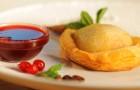 Пирожное «Грейпфрут-груша»