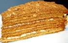 Пирожные медовые воздушные