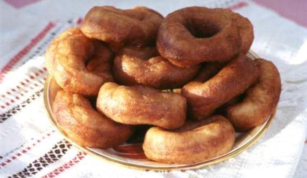 Пончики с орехово-лимонной начинкой