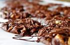 Шоколадное печенье с медом