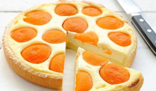 Суфле творожное с абрикосами