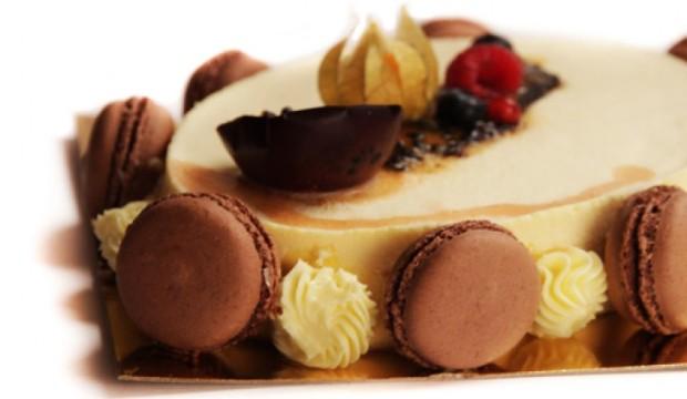 Торт «Маракуйя» с белым сыром