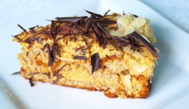 Торт кофейный с медово-миндальным кремом