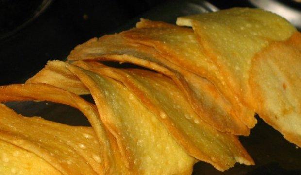 Тюиль из сыра «Пармезан»