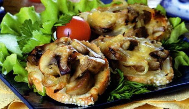 Бутерброды «Лесные»