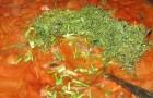 Грибной соус с луком и томатом