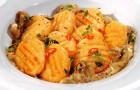 Грибной соус с тыквой и мандаринами