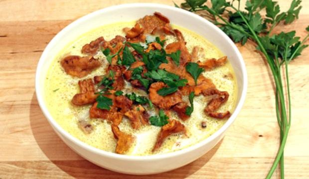 Грибные бульоны и супы