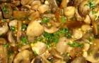 Грибы в маринадной заливке