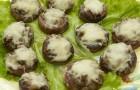 Грибы, запеченные на тесте