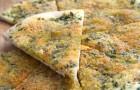 Лепешки с чесноком и петрушкой