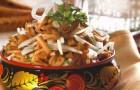 Маринованные грибы разных видов