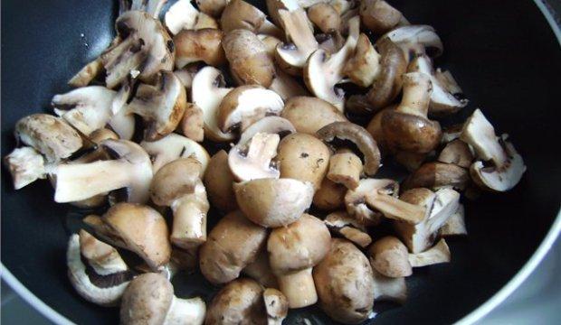 Масло с грибами