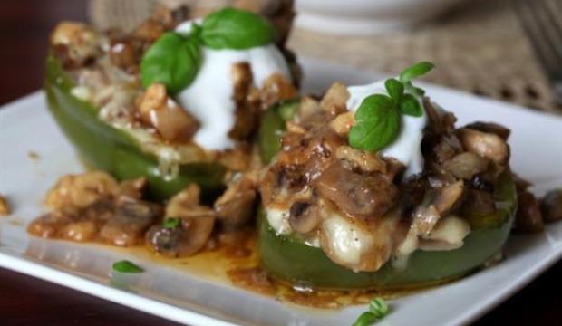 Начинка из соленых грибов