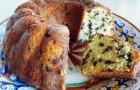 Пирог шоколадный со сливочным сыром