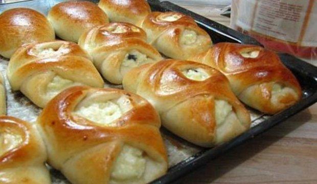 Пироги или пирожки из постного теста на дрожжах