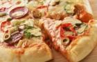 Пицца с грибами и салом по-украински