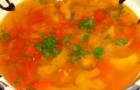 Суп грибной по-румынски