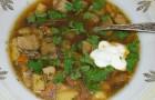 Суп из сыроежек с картофелем