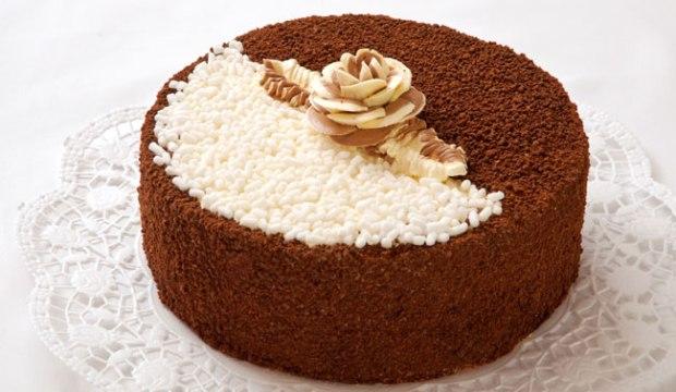 Торт «День-ночь»