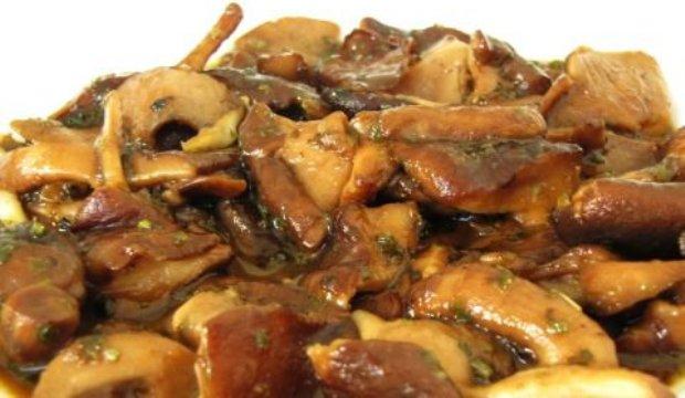 Закуска из грибов шитаки