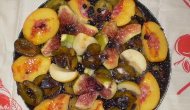 Запеченные фрукты